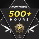 DMG (NON PRIME) ACCOUNTS | 500+ hours on CSGO