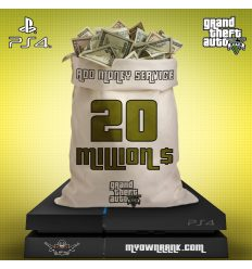 PS4 GTA V 20 MILLION IN BANK