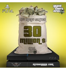 PS4 GTA V 30 MILLION IN BANK