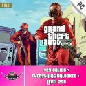 PC GTA V Account With 25 Billion Online Cash and 250 level [Epic Games PC]
