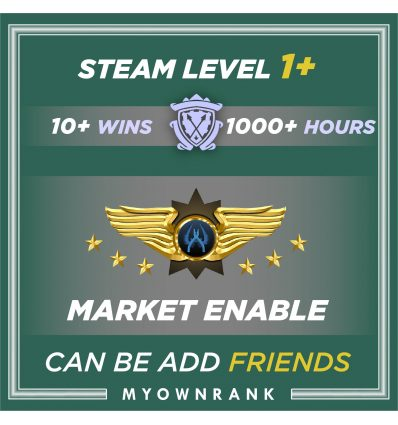 Prime SMFC | 1000+ Hours | Can Add Friends |Market & Faceit Available