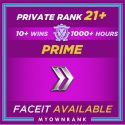 CSGO Prime SILVER 2 | 1300+ Hours | Private Rank 21+ | FACEIT READY