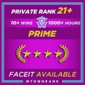Prime GN-3 OR GNM | 1000+ Hours | Private Rank 21+| FACEIT READY