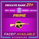 CSGO Prime MG1 - MG2 | 1200+ Hours | PR 21+ | FACEIT READY