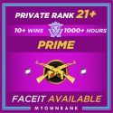 PRIME MGE | 1000+ Hours | PR21+ | FACEIT READY