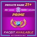 Prime GE | 1000+ Hours | Private Rank 21+ | FACEIT READY