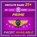 Prime SMFC | 1000+ Hours | Private Rank 21+ | FACEIT READYMGH