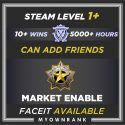 CSGO Prime MGE or DMG | 5000+ Hours | Can Add Friends | Market And Faceit Available