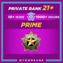 Prime DMG | 1000+ Hours | Private Rank 21+ | FACEIT READY