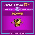 CSGO Prime SMURF LE | 1000+ Hours | Private Rank 21+ | FACEIT READY