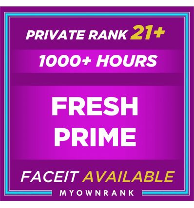 Prime Private Rank 21