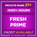 CSGO Prime Private Rank 21+ | 1200 + Hours | Faceit Available