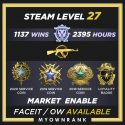 MG-1 | 1137 Wins 2395 Hours | 18(2)-19(3)-20 Service Medals | Steam level 27 | Faceit available