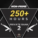 PRIVATE RANK 2 (250+ HOURS) | Non prime | FACEIT READY