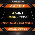PR-2 PRIME | 0 Wins 6400+ Hours | Can add Friends | Market Enabled | Faceit available | FULL ACCESS