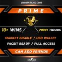 PRIME LE | 10+ Wins 7800+ Hours | Can add Friends | Market Enabled | Faceit Ready | FULL ACCESS