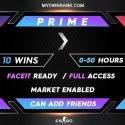 CSGO PRIME SILVER 1 ACCOUNTS | MARKET ENABLED | CAN ADD FRIENDS | FULL ACCESS