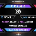 CSGO PRIME SILVER 3 ACCOUNTS | MARKET ENABLED | CAN ADD FRIENDS | FULL ACCESS