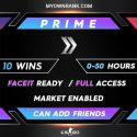 CSGO PRIME SILVER 2 ACCOUNTS   MARKET ENABLED   CAN ADD FRIENDS   FULL ACCESS