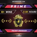 PRIME GN3 OR GNM WITH LOYALTY BADGE   FULL ACCESS