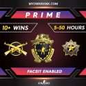 PRIME MGE OR DMG WITH LOYALTY BADGE   FULL ACCESS