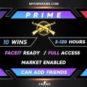 PRIME MGE - DMG | Distinguished Master Guardian ACCOUNTS | MARKET ENABLED | CAN ADD FRIENDS | FULL ACCESS