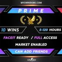 CSGO PRIME LEM | MARKET ENABLED | CAN ADD FRIENDS | FULL ACCESS